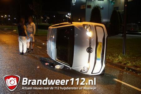 Twee gewonden bij ongeluk in Waalwijk