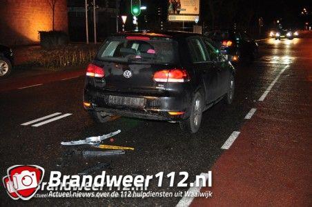 Bestuurder rijdt door na aanrijding aan de Wilhelminastraat Waalwijk