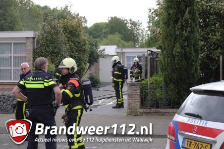 Meterkast in brand aan de Ds. Louwe Kooymanslaan Waalwijk