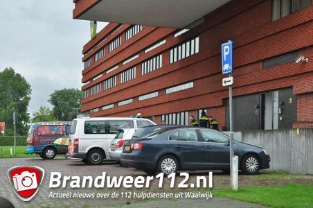 Politie rukt uit voor overval alarm bij gemeentehuis aan de Taxandriaweg Waalwijk