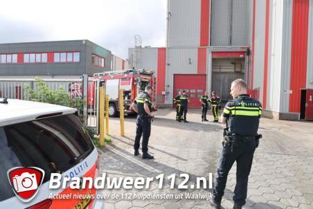 Weer brand bij diervoederbedrijf in Waalwijk