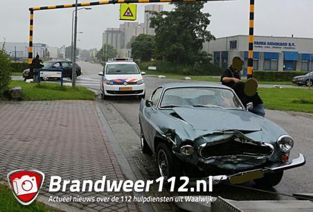 Ongeval op gevaarlijke kruising Kleiweg Waalwijk