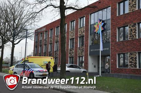 Vrouw valt van trap in school aan de Olympiaweg Waalwijk