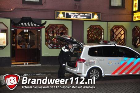 Gewapende overval op Chinees restaurant in Waalwijk