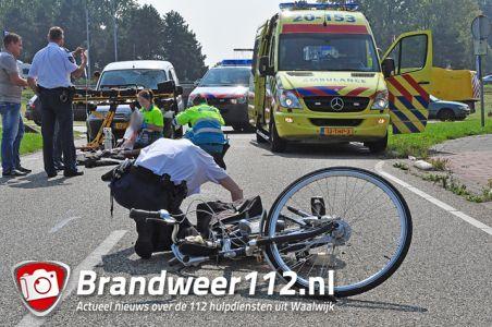 Man ernstig gewond na aanrijding aan de Kloosterheulweg Waalwijk