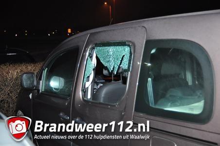Ingebroken in auto's op parkeerplaats NH Hoteles aan de Tilburgseweg Waalwijk