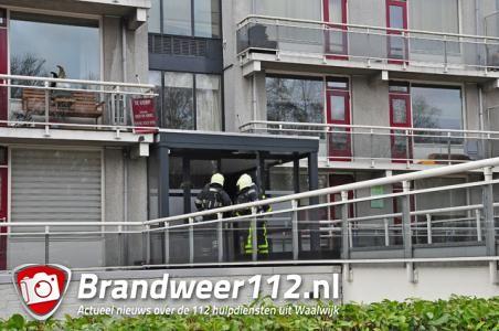 Vuilnisbak in brand in woning aan de Heulstraat Waalwijk