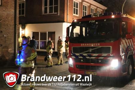 Gaslek in woning aan de Loeffstraat Waalwijk