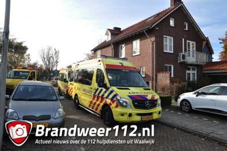 Reanimatie bij tandartspraktijk aan de Noorder-Parallelweg Waalwijk
