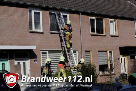 Alarm gaat af in woning aan de Diederikhof Waalwijk