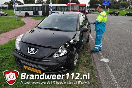 Weer een aanrijding aan de Kloosterheulweg Waalwijk