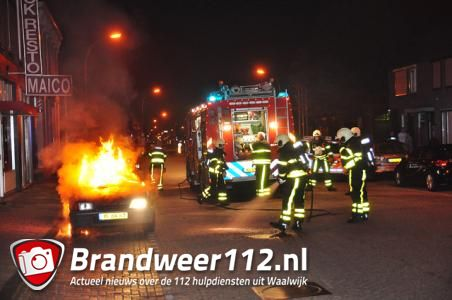 Mogelijk brandstichting aan de Grotestraat in Waalwijk