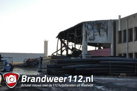 Onderzoek naar oorzaak brand in Waalwijk