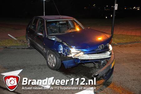 Ongeval aan de Akkerlaan Waalwijk