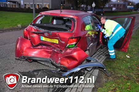 Slingerende hardrijder veroorzaakt zwaar ongeval in Waalwijk