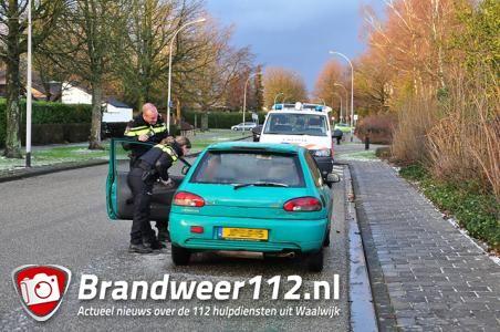 Man aangehouden aan de Vincent van Goghlaan Waalwijk