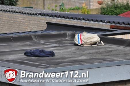 Tas met vuurwapen gevonden aan de Groen van Prinstererlaan Waalwijk