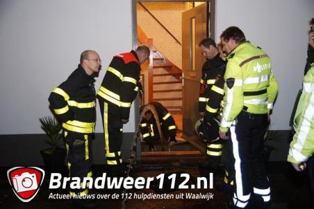 Politie doorzoekt huis in Waalwijk tijdens waterlekkage, maar vindt niks illegaals