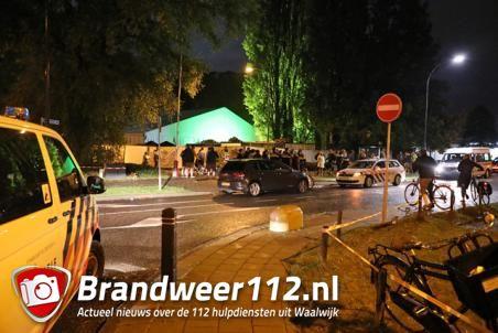 Veel politie bij Oktoberfeest in Waalwijk