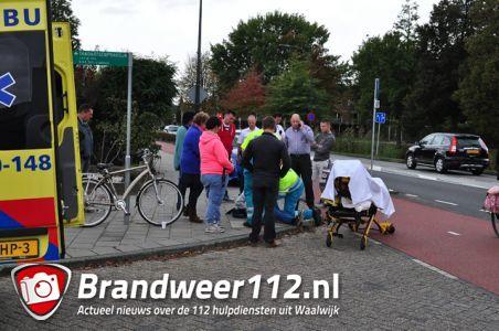 Jongen raakt gewond bij aanrijding aan de Mozartlaan Waalwijk