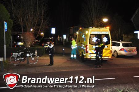 Man ligt zwaargewond op straat aan de Burg. Smeelelaan Waalwijk