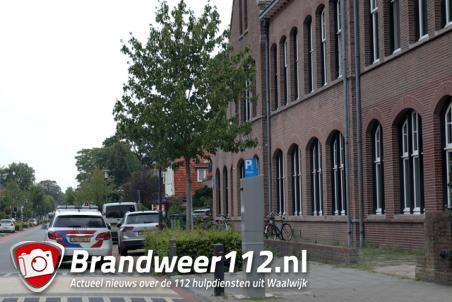 Politie rukt uit voor overval alarm aan de Meester van Coothstraat Waalwijk