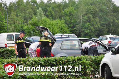 Roadblockcontrole aan de Drunenseweg Waalwijk