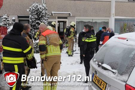 CV-ketel in brand in woning aan het Europaplein Waalwijk