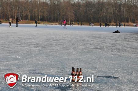 Verleidelijk schaatsweer, toch waarschuwt schaatsbond: ga niet het ijs op
