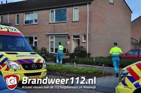 Man zwaargewond na val van trap aan de Cesar Francklaan Waalwijk