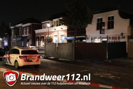 Persoon overleden op straat aan de Stationsstraat Waalwijk