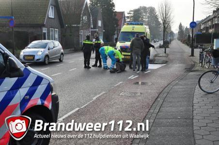 Fietser gewond bij val in Waalwijk