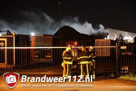 Vuur laait weer op bij Maton aan de Van Hilststraat Waalwijk