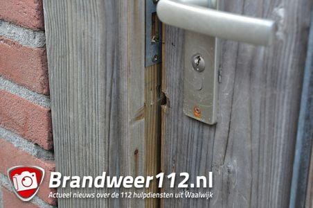 Inbraak in woning terwijl bewoonster thuis is aan de Carl Maria von Weberstraat Waalwijk