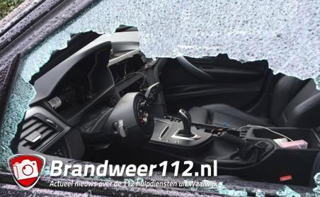 Weer ingebroken in auto aan de Jan de Quaystraat Waalwijk