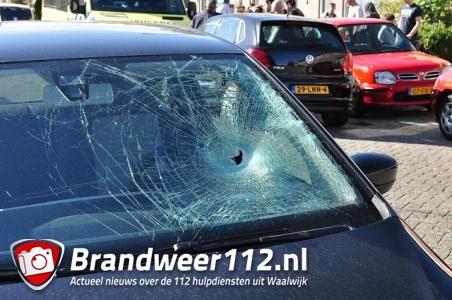 Meisje raakt gewond na aanrijding met auto aan de Prof. Nolenslaan Waalwijk