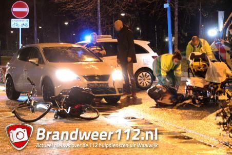 Vrouw op fiets aangereden aan de Floris V-laan Waalwijk