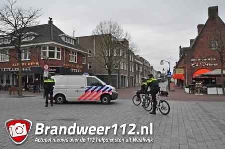 Voetbalsupporters richten vernielingen aan in centrum Waalwijk