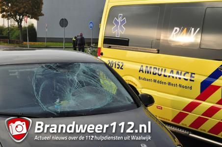Meisje gewond na botsing met auto in Waalwijk