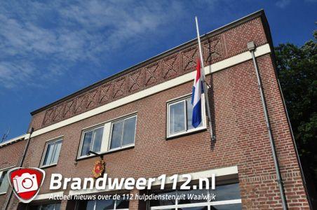 Brandweer Waalwijk en brandweer112.nl herdenken slachtoffers van vlucht MH17