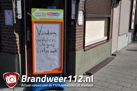 Weer ingebroken bij Primera aan de St. Antoniusstraat Waalwijk