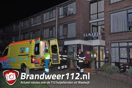 Vrouw raakt onwel tijdens pan op het vuur aan de Mercatorlaan Waalwijk