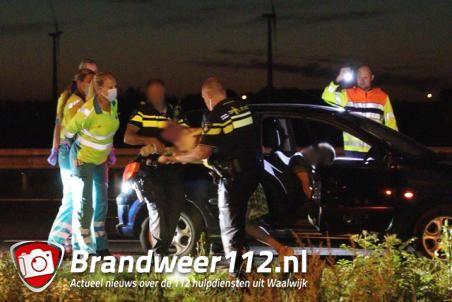 Vrouw aangehouden op de A59 (Maasroute) Waalwijk