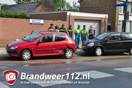 Weer een ongeval aan de Groenewoudlaan Waalwijk