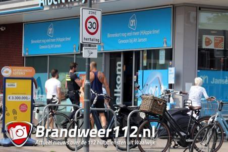 Man aangereden aan het Bloemenoordplein Waalwijk