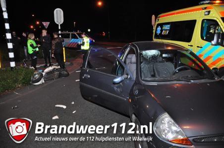 Vrouw gewond bij aanrijding in Waalwijk