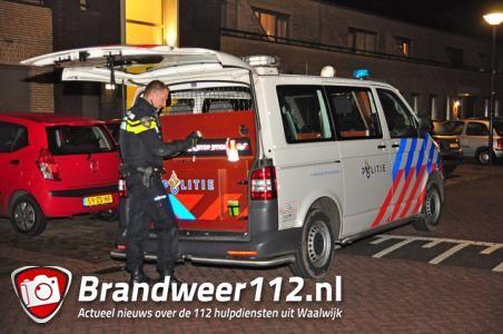Man neergestoken in woning Waalwijk
