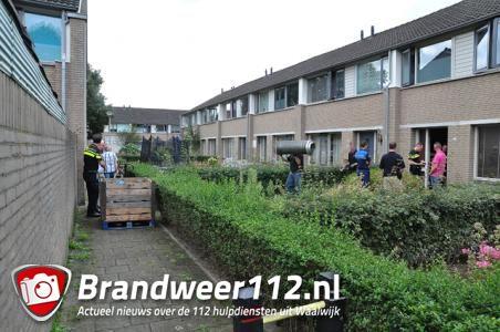 Hennepkwekerij gevonden aan de Max Regerpark Waalwijk