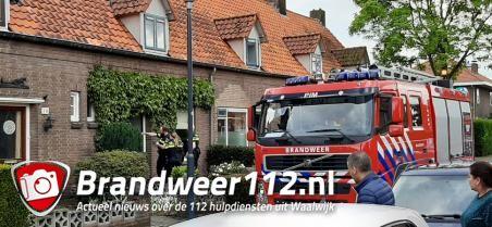 Gasfles ontploft midden in woonwijk aan de Poolsestraat Waalwijk
