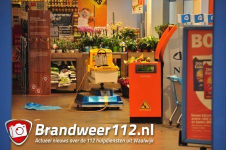 UPDATE: Onderzoek naar poging tot openbranden geldautomaat Albert Heijn in Waalwijk